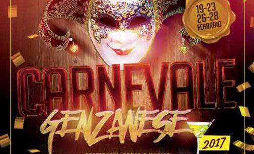Carnevale Genzanese 2017: Il Programma