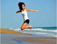 Fitness e sport rendono l'uomo felice