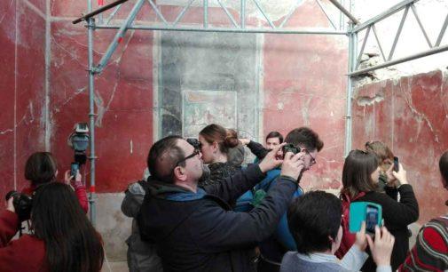 Pompei – Domus dei Casti amanti Positivo riscontro di pubblico