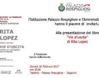 """Zagarolo – Rita Lopez presenta il suo libro """"Vie d'uscita"""""""