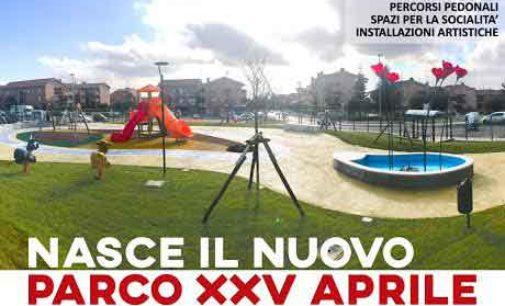 Lanuvio,  Inaugurazione Nuovo Parco XXV Aprile