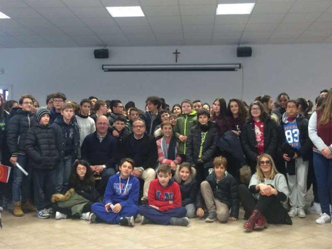 Gli studenti di Colonna incontrano i desaparecidos argentini