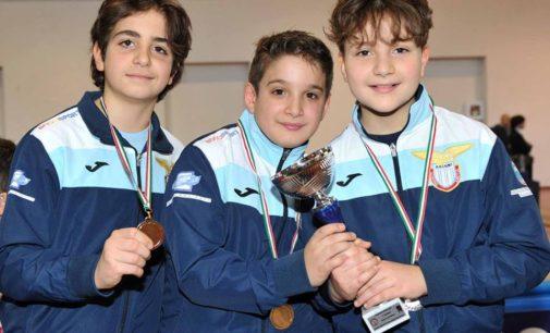 Under 14 il futuro della Lazio Scherma