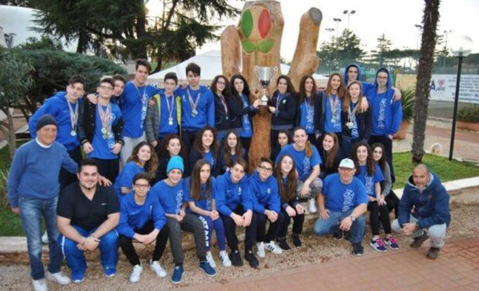 Tc New Country Club Frascati, il settore nuoto trionfa a Bastia e riporta a casa la Coppa per club