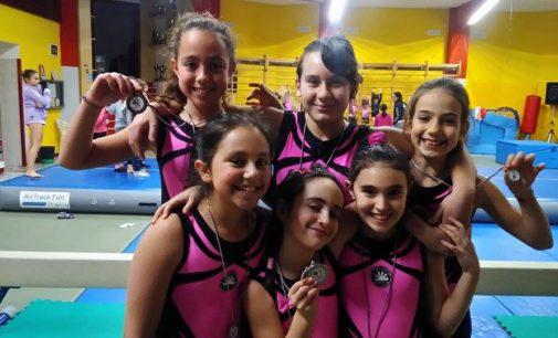 Asd Judo Energon Esco Frascati, la ginnastica artistica conquista le prime medaglie stagionali