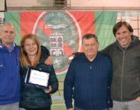 La Polisportiva Borghesiana volley premiata per i 20 anni di affiliazione alla Fipav