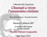 """Pontificia Università Gregoriana –  """"La sinfonia dell'umano"""""""