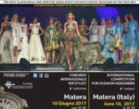 """Premio Moda® """"Città dei Sassi"""" Concorso Internazionale per stilisti 9^ edizione"""
