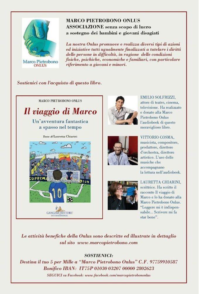 'Il viaggio di Marco' ha la voce di Emilio Solfrizzi