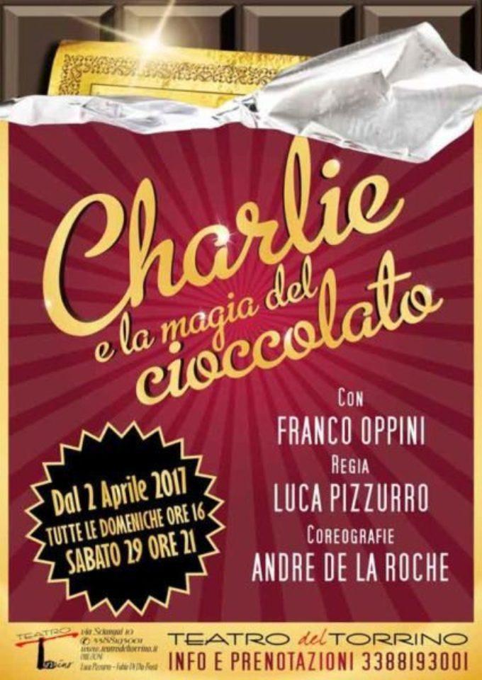 Teatro del Torrino – le avventure di Charlie e la magia del cioccolato