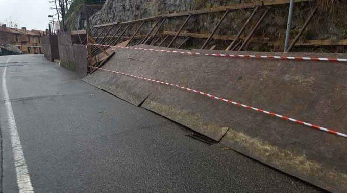 Monte Compatri – Via Rosmini, intervento sulla recinzione del muro