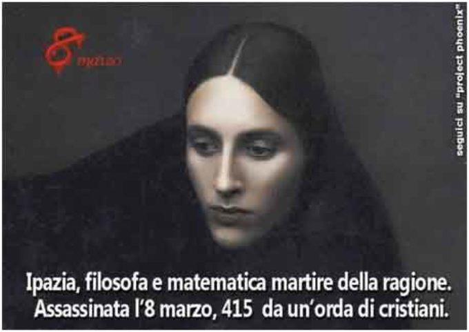 8 marzo… in memoria di Ipazia, filosofa e martire