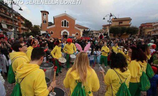 Grande partecipazione al Carnevale sancesarese