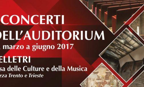 Velletri, I concerti dell'Auditorium