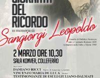 """Colleferro – """"Giornata del Ricordo"""", in memoria di Leopoldo Sangiorgi"""