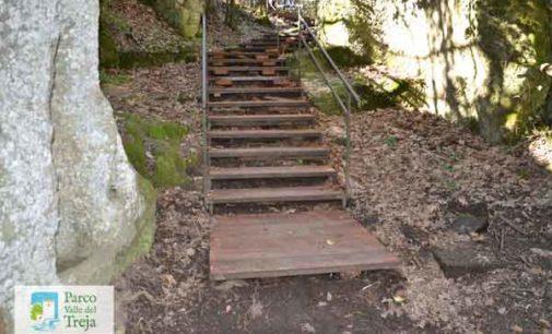 Parco Valle del Treja – Messa in sicurezza la scalinata di Monte Gelato