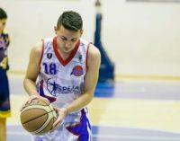 """Basket Frascati, il talentino Oddi alle """"Giornate azzurre"""": «Un'esperienza bellissima»"""