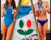 Tc New Country Club Frascati (nuoto), la gioia della Furfaro e di Mariotti neocampioni regionali