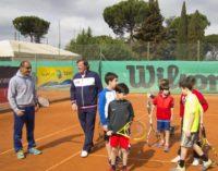 Tc New Country Club Frascati (tennis), circa 300 partecipanti per l'allenamento con Panatta