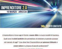 """Il 16 marzo ad Ariccia il corso """"Imprenditore 2.0"""""""
