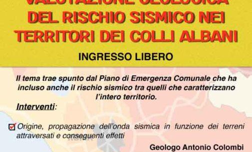 """""""La valutazione geologica del Rischio Sismico nei territori dei colli Albani"""""""