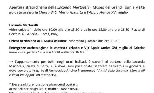 Enjoy Castelli Romani OPEN DAY