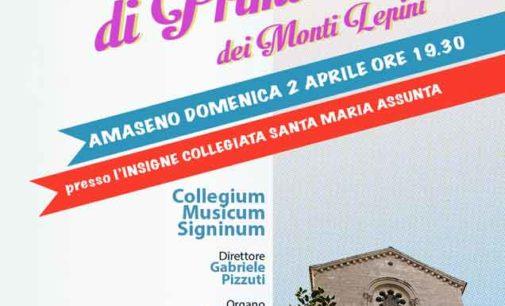 Amaseno – concerto di Primavera dei Monti Lepini
