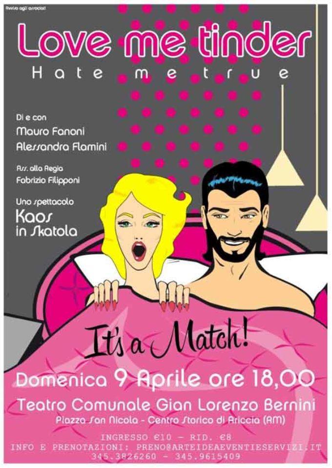 Teatro G.L. Bernini – LOVE ME TINDER