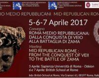 Convegno Roma & Lazio Repubblicani. Roma Medio Repubblicana: dalla conquista di Veio alla battaglia di Zama