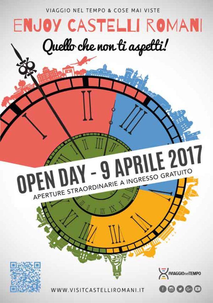 9 aprile 2017 Enjoy Castelli Romani OPEN DAY