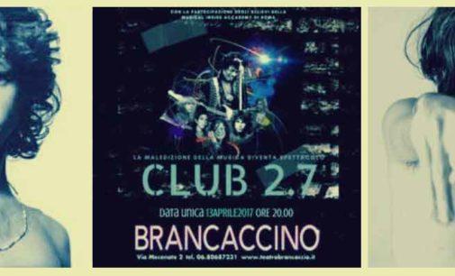 Teatro Brancaccino – 'La maledizione del 27'