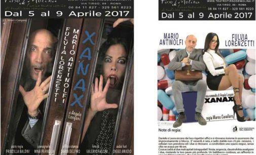 "Teatro Tirso de Molina – ""XANAX"" Con Mario Antinolfi e Fulvia Lorenzetti"
