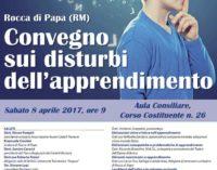Convegno sui disturbi dell'apprendimento – Rocca di Papa sabato 8 aprile