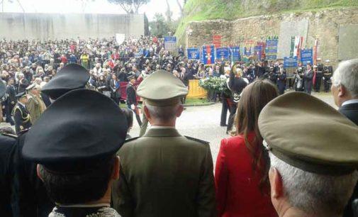 Albano Laziale, commemorazione eccidio delle Fosse Ardeatine