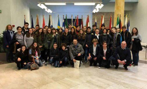 Da Valmontone, quaranta studenti al Parlamento Europeo
