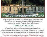 A Frascati il 25 marzo 'Tocca gli alberi'!