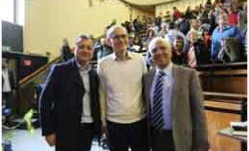 """Thomas Südhof, Premio Nobel per la Medicina, visita il nuovo """"Rita Levi Montalcini"""" Institute alla Sapienza"""