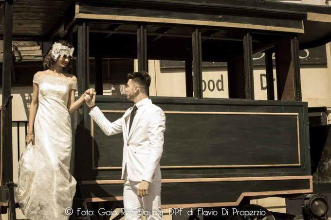 Flashmob e matrimonio da oscar a Castel Romano
