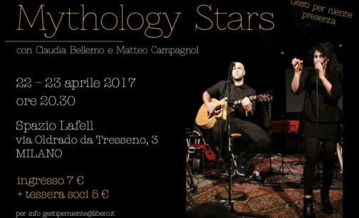 Mythology STARS show musicale sulle divinità della nostra epoca