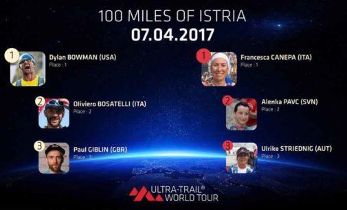 Francesca Canepa, ultratrailer, trionfa alla 100 miglia dell'Istria in Croazia