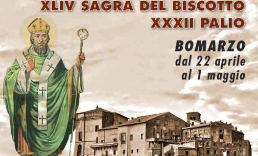 Palio di S.Anselmo e Sagra del Biscotto a Bomarzo  23-25 aprile