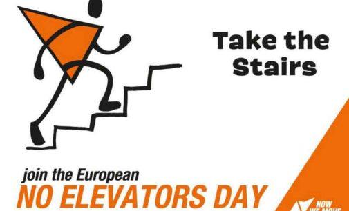 26 Aprile No Elevator Day: Un giorno senza ascensore è possibile