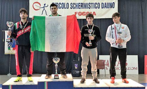 Frascati Scherma: tre argenti ai campionati italiani U23, il 22 aprile il memorial Simoncelli