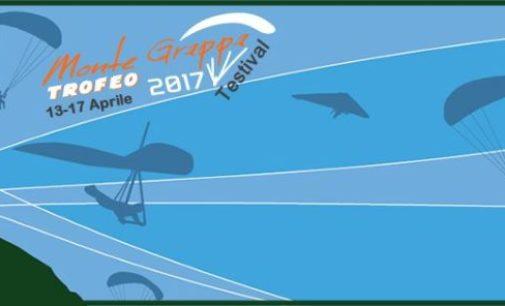 Parapendio in volo sul Monte Grappa per il trofeo internazionale di Pasqua