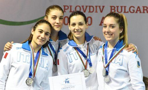 Frascati Scherma: argento mondiale Giovani a squadre per la Lucarini e la Crovari