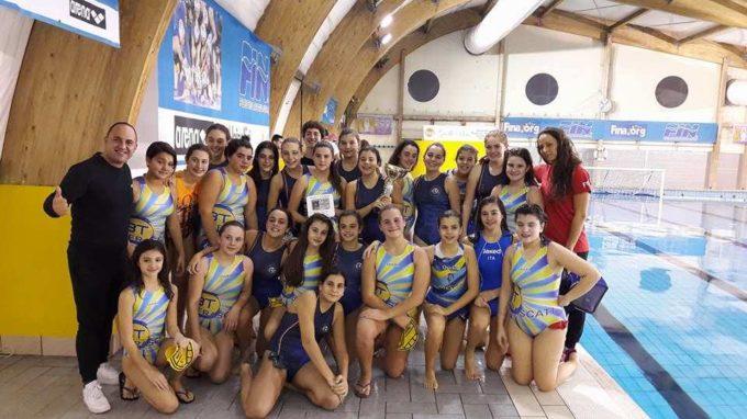 3T Frascati Sporting Village (pallanuoto), Muccio e Tagliaferri soddisfatte dei gruppi Under 15