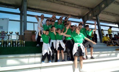 Castelverde calcio: tre gruppi al torneo internazionale di Agropoli, i 2003 in trionfo