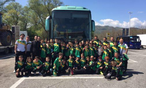 """Racing Roma, tre gruppi della Scuola calcio protagonisti in Abruzzo al """"Trofeo del Grifone"""""""