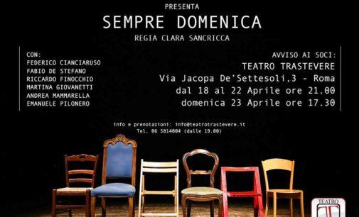 Teatro Trastevere – Sempre domenica