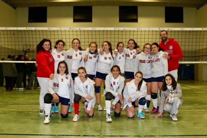 Volley Club Frascati, Conti: «L'Under 14 cresce, allenare è una bella responsabilità»